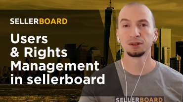 Users and Rights Management in sellerboard