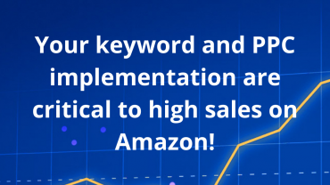 Your keyword and PPC implementation are critical to high sales on Amazon!